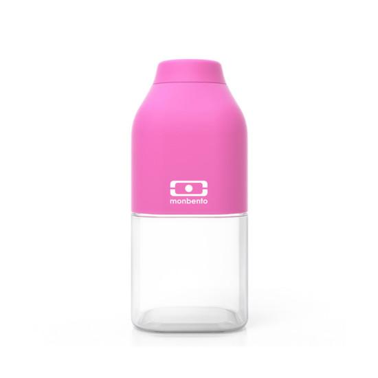 Бутылка MB Positive, розовая, 330 мл