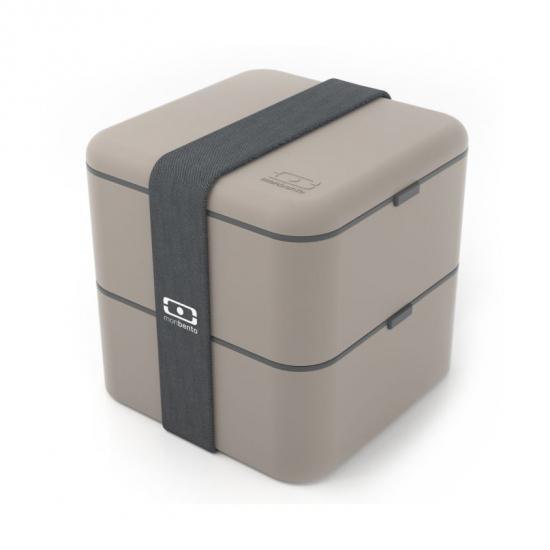 Ланч-бокс MB Square, серый