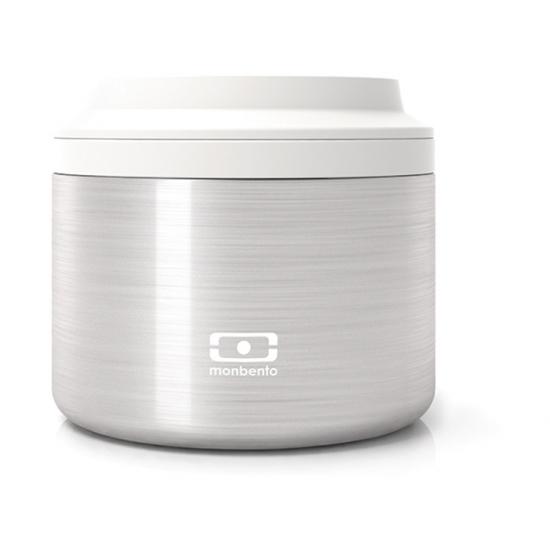 Контейнер для еды MB Element S, серебро