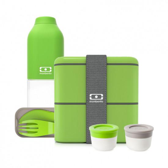 Набор MB Square, зеленый, 4 предмета