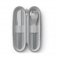 Набор столовых приборов в футляре MB Slim Nest, серый